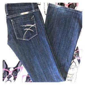 Distressed Flare Frankie B Jeans 👖Sz 4